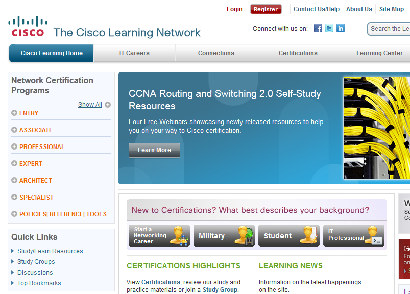 how to learn cisco networking