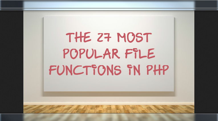 File Functions PHP