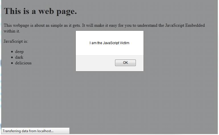 javascript structure