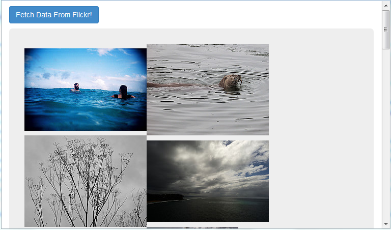 flickr api json