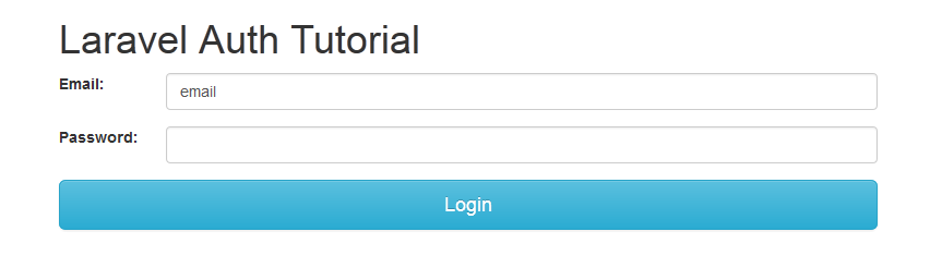 Laravel Auth Tutorial – Vegibit
