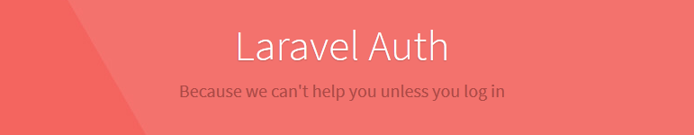 laravel auth tutorial