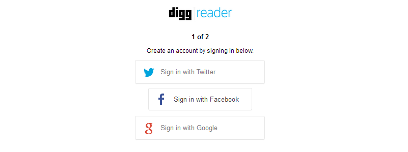 digg reader review