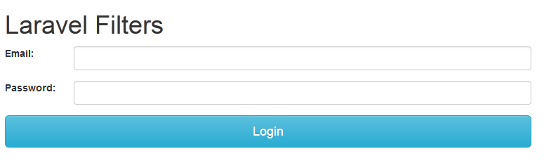 laravel auth filter login