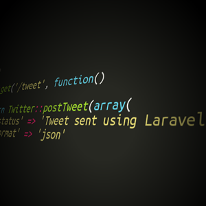send a tweet using laravel