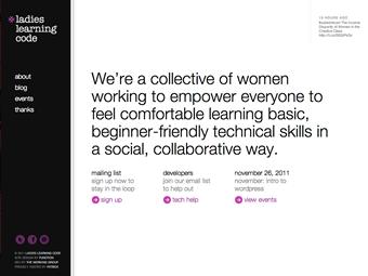 Código de aprendizaje para damas