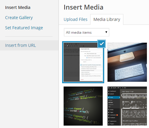 WordPress Add Image
