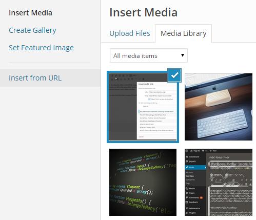 WordPress Agregar imagen