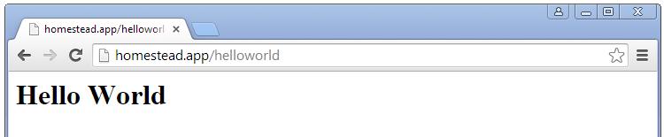 Página web estática de Laravel