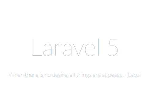 Introduction To Laravel 5
