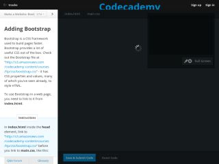 codecademy-twitter-bootstrap