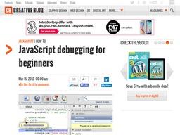 JavaScript Tutorials For Beginners creativebloq-javascript