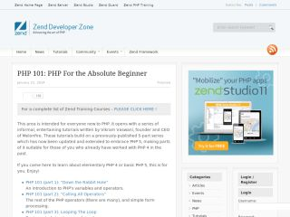 devzone-zend-php-101-php-for-the-absolute-beginner