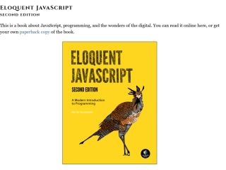 JavaScript Tutorials For Beginners eloquentjavascript