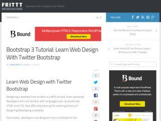 frittt-bootstrap-3-tutorial