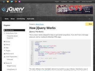 how-jquery-works JavaScript Tutorials For Beginners