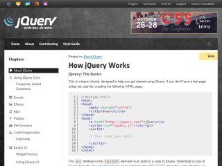 cómo-jquery-funciona Tutoriales de JavaScript para principiantes