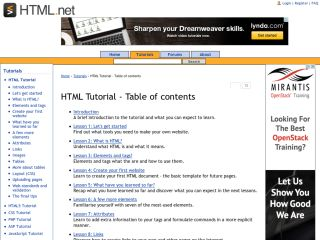 html-net-tutorials-html