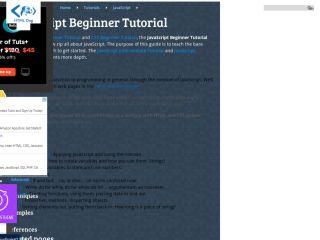 htmldog-javascript-beginner