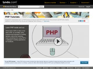 lynda-PHP-training-tutorials