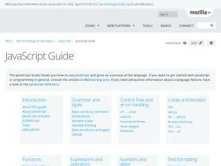 mozilla-core-javascript