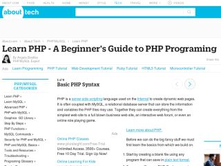 php-learnphp Php Tutorials For Beginners