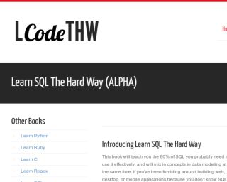 Looking for good resources to learn SQL : learnprogramming