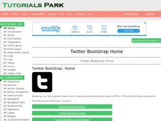 tutorialspark-twitterBootstrap