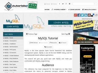 tutorialspoint-mysql