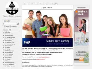 tutorialspoint-php Php Tutorials For Beginners