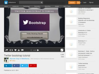 twitter-bootstrap-tutorials