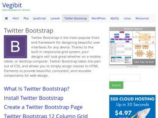 Twitter Bootstrap Tutorials