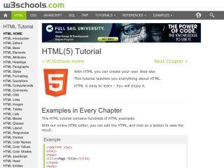 w3schools-html