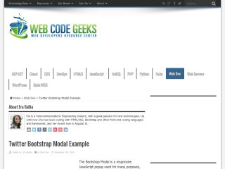 webcodegeeks-twitter-bootstrap