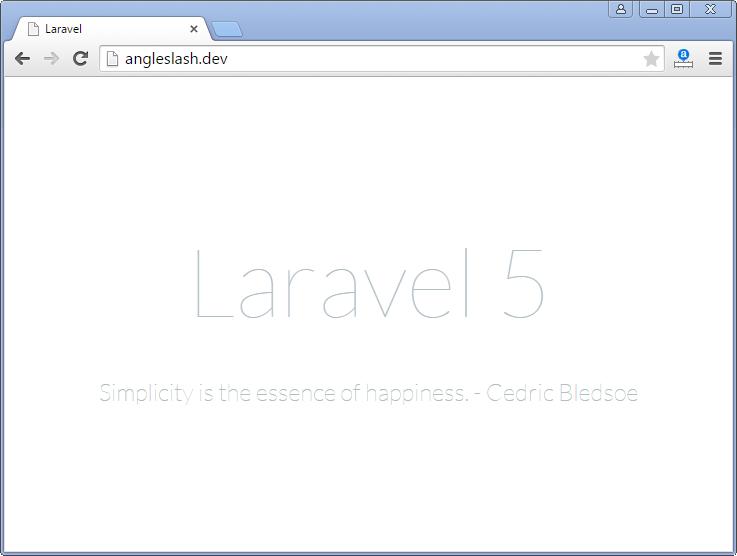 Cree su propio sitio web para compartir enlaces sociales con Laravel