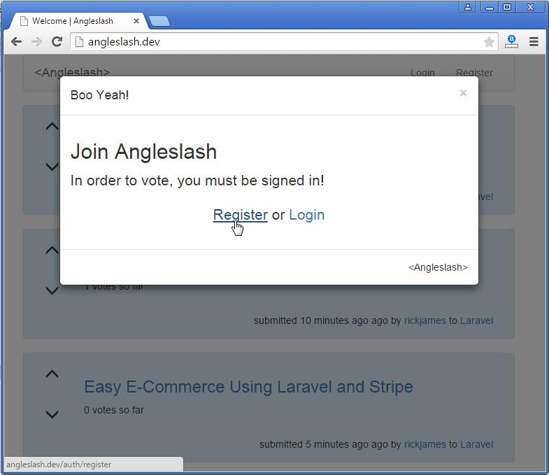 Build A Link Sharing Website With Laravel – Vegibit