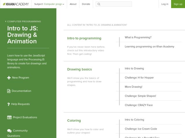 Drawing with JavaScript