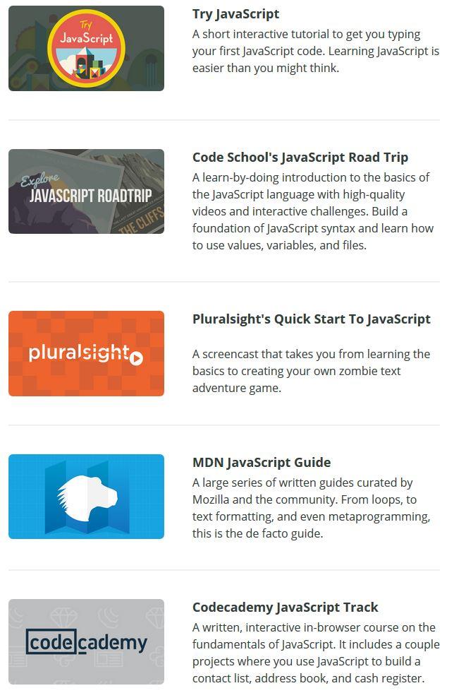 29 Awesome JavaScript Learning Tutorials – Vegibit