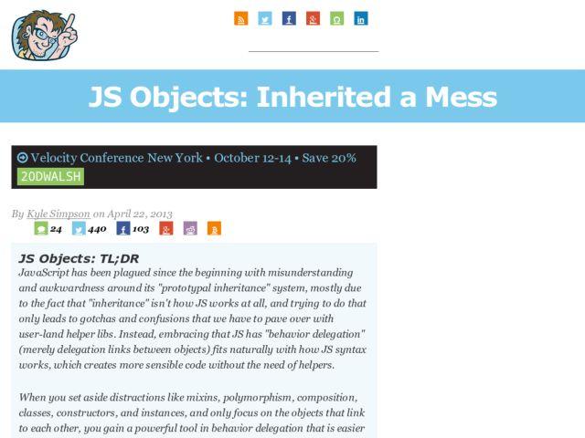 JavaScript Objects