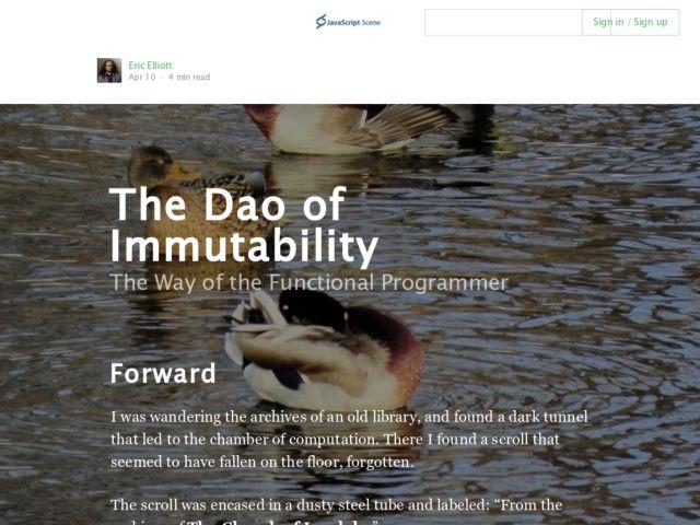 immutable javascript