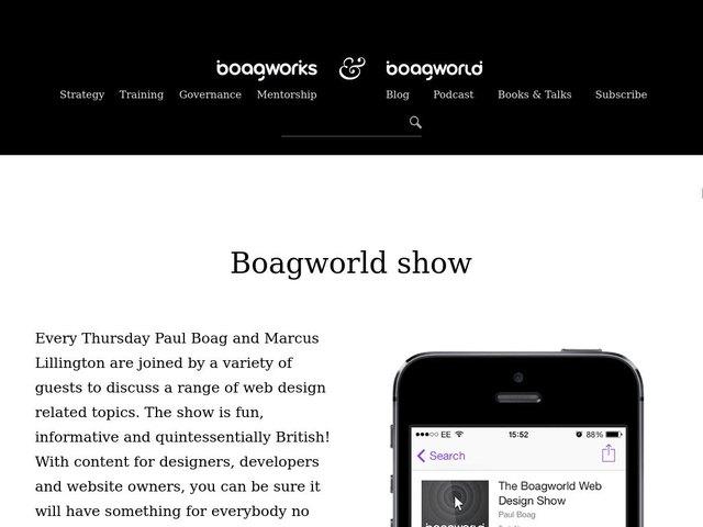 Boagworld Podcast
