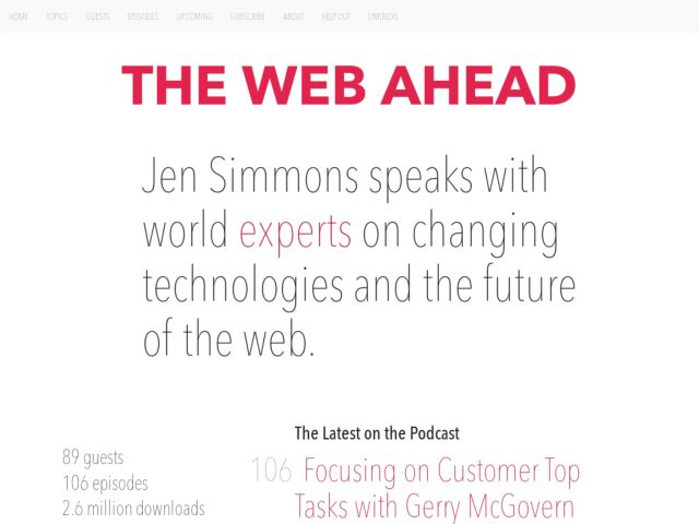 The Web Ahead Podcast