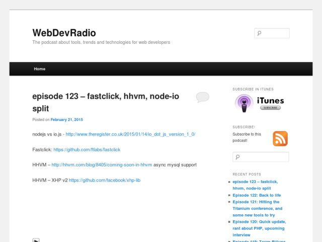 Web Dev Radio