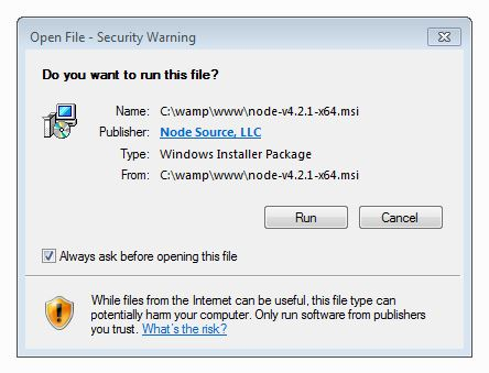 do you want to run this file