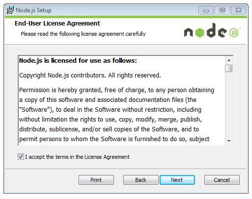 end user license agreement