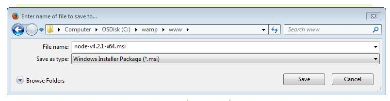 enter name of file to save to