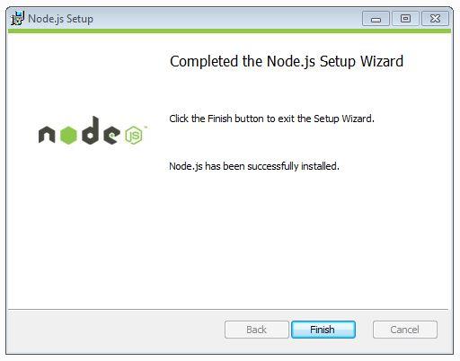 exit node setup wizard