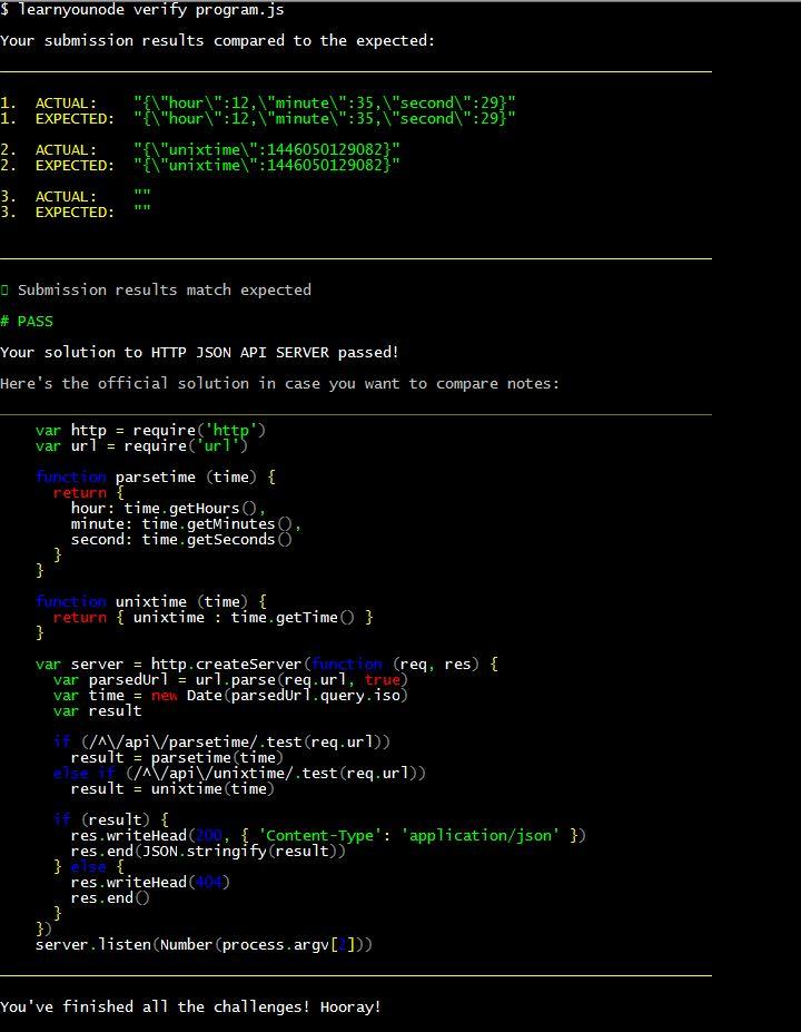 learnyounode http json api server solution