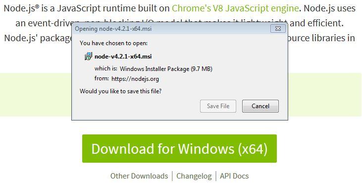 Install NodeJS on Windows – Vegibit
