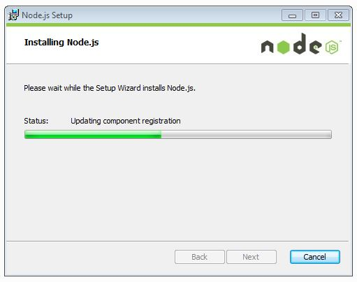 updating component registration